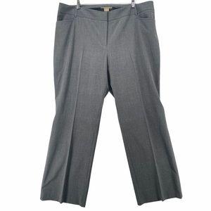 Michael Michael Kors Gray Gramercy Fit Trousers